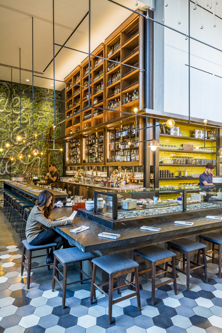 Otium Restaurant, Los Angeles, CA by Studio UNLTD, Osvaldo Maiozzi and Diller, Scofidio+Renfro